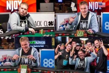 2015 WSOP 14-й Ивент ($1 500 No-Limit Hold'em Shootout). Браслет берет Барри Хаттер