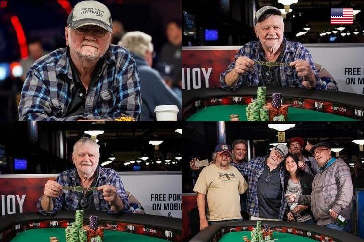 2015 WSOP 43-й Ивент ($1 000 Super Seniors No-Limit Hold'em). Побеждает Йон Андловец