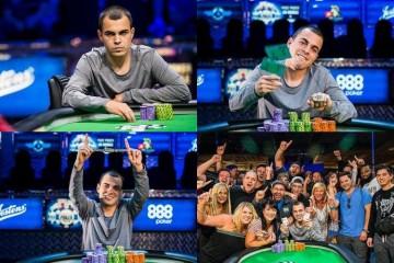 2015 WSOP 5-й Ивент ($565 THE COLOSSUS): Самый крупный турнир в истории выигрывает Корд Гарсия