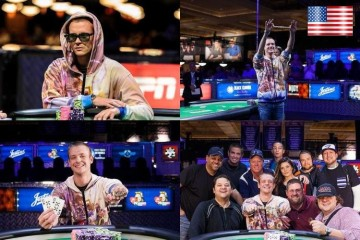 2105 WSOP 16-й Ивент (MILLIONAIRE MAKER $1 500 No-Limit Hold'em): Более миллиона долларов достается Эдриану Бакли