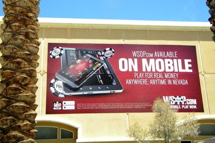 Рекламный баннер WSOP.com