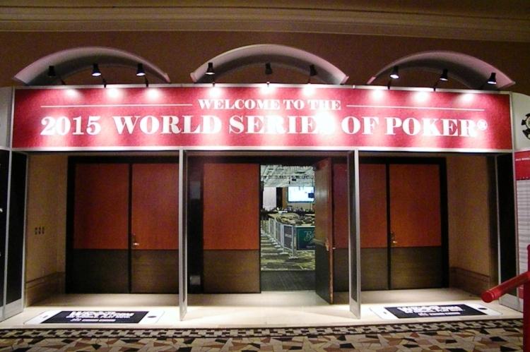 Вход в зал Pavilion Room в казино Rio