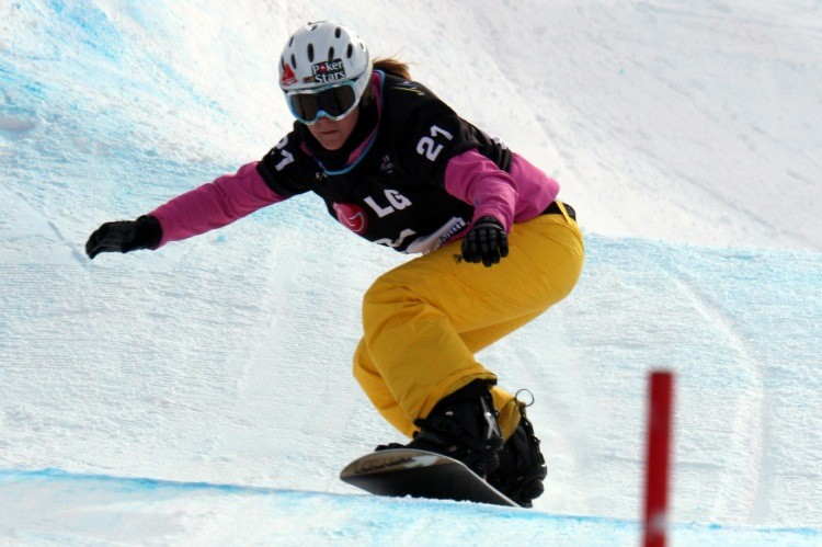 ¬ PokerStars становится спонсором сноубордистки Зои Гиллингс