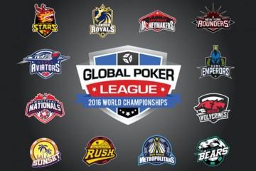 Новости покера: объявлены команды и менеджеры Global Poker League 2016