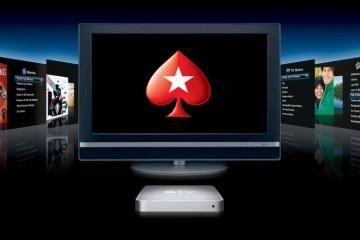 Новости покера: PokerStars запустил приложение для Apple TV