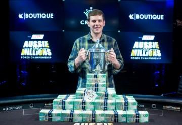 Новости покера: Ари Энджел выиграл главный турнир Aussie Millions 2016