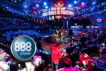 Новости покера: 888Poker стал спонсором Мировой серии покера 2016